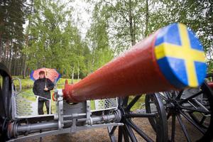 Någon svensk lösen blir det inte eftersom kanonerna inte längre går att använda på det sätt de var avsedda för.