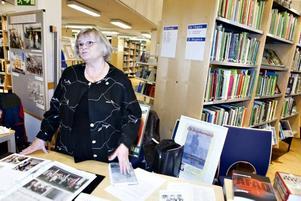 KRIGSBARN. Irja Olsson var en av de 50 deltagare vid årets lokala bokmässa på Stadsbiblioteket i Gävle.