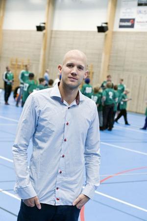 Peter Sahlin, ordförande i Envikens IF.