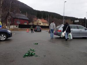 Varje skärtorsdag åker hundratals norska ungdomar för att traditionsenligt festa i Åre under dagen.