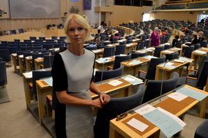 Saila Quicklund (M) är nöjd med att ha fått förtroendet att fortsätta som riksdagsledamot i fyra år till. Hon vill ha mer tid på sig att utveckla Jämtlands län.