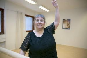 Filomena Policarpo undervisar i balett vid Medborgarskolan och har själv varit solistdansare.