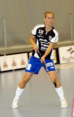 Meriterad. Den finländska landslagsforwarden, Anna Vartiainen, var den mest namnkunniga spelaren som visade upp när IBF Falun arrangerade vårens andra testmatch.