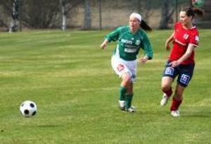 Cecilia Bäckvall gjorde det avgrörande målet för K/D.