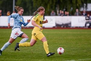 Leneli Grönoset är en A-lagsspelarna i Ljusdal som även gjort matcher med F19-laget.