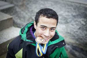 Tammar Abbud blev bronsmedaljör när skol–SM i judo för högstadieelever avgjordes i Lindesberg.