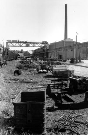 Smältverket i Forsbacka lades ner 1967, 1983 blev det skrothantering på området.