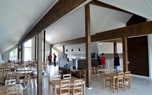 Murboannas Ost öppnar kafé och hoppas bli ett besöksmål.