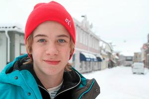 Kalle Hemlin, talangfull målvakt. Foto: Niclas Bergwall