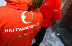 """De senaste månaderna har Lena Glingborg och Göran Festin nattvandrat varje helg. """"Det gäller för oss att knyta kontakter med ungdomarna. Vi ska inte föreställa några poliser"""", säger Göran Festin."""