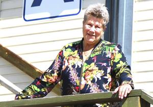 Gertrude Fuchs tar plats i Svenska bandyförbundets styrelse.