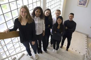 Emily Hearne, Ellelta Tella, Lovisa Ludvigsson, Emilia Sörengård, Pavel Gentek och Gustav Pettersson har bildat Time To Work UF.