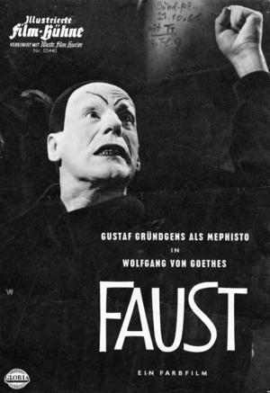 Gustaf Gründgens som Mefisto.