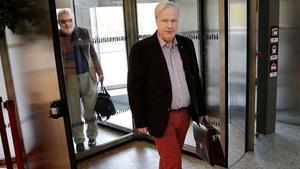 Sverigedemokraternas ledarduo i Södertälje, Tommy Blomqvist och Tommy Hansson.
