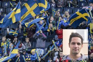Hakim Korselius är en av många hälsingar som tänker se Sverige–Danmark på plats.