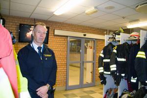 Lars Westerfors, ställföreträdande räddningschef på Södra Dalarnas räddningstjänstförbund har jobbat inom räddningstjänsten i 35 år.