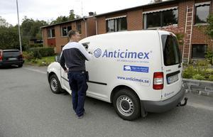 Antalet saneringar för vägglöss har ökat med 407 procent i Dalarna på ett år enligt Anticimex.