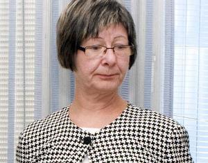 Kommunalrådet Britt-Inger Fröberg.