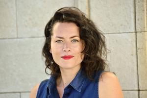 Liv Strömquist, serieskapare.   Foto: Henrik Montgomery/TT