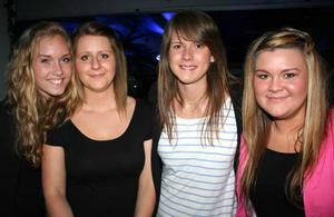 Pluto. Therese, Mikaela, Lovisa och Jessica