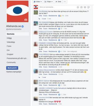 Efter bara någon timme var artikeln på Allehandas Facebooksida överöst med kommentarer.