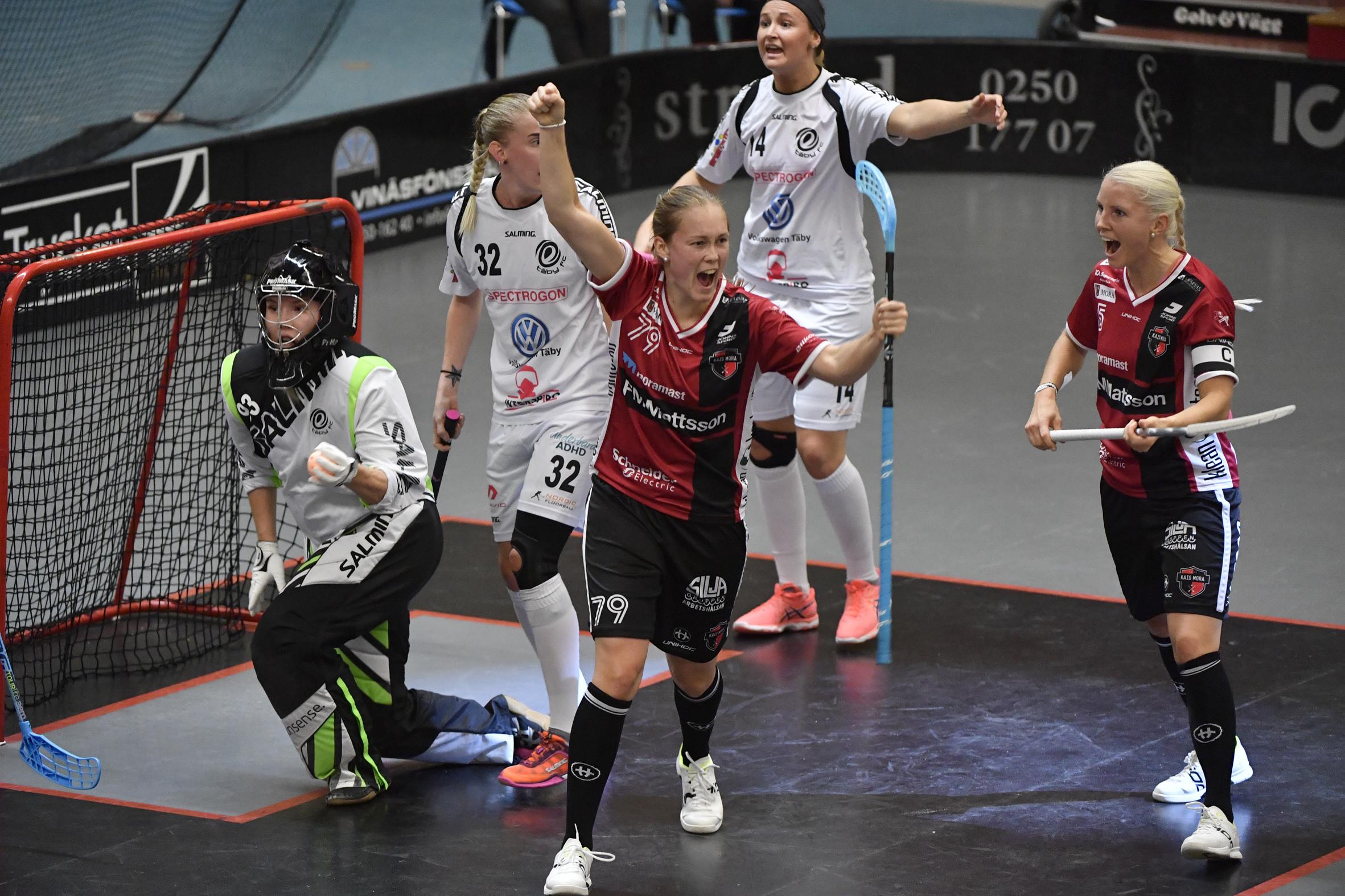 Mora vann seriefinalen