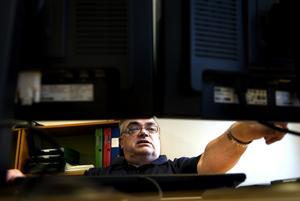 Dold talang. Att Rune Werf hade spetskompetens vad gäller datorer blev tydligt under förändrarprogrammet. I dag arbetar han med att uppdatera polisens masterdatabas.