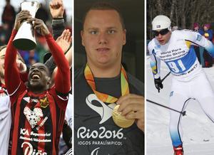 Östersunds FK, Karl Forsman och Zebastian Modin har alla bidragit till att Östersund kan utses till årets idrottsstad.