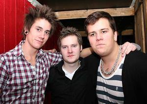 Konrad. Klas, Micke och Mattias