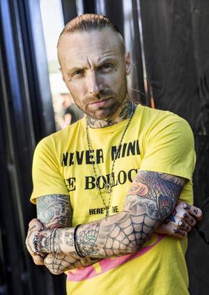 Nicke Borg, känd från bandet Backyard Babies och soloprojektet Homeland.