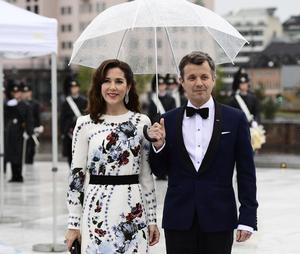 Kronprinsessan Mary och kronprins Frederik av Danmark.