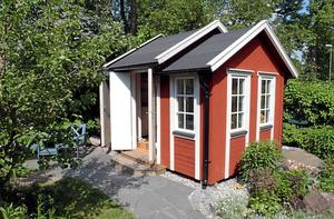 Minihus. En friggebod får man bygga på tomten utan bygglov – om den är max 15 kvadratmeter och 3 meter hög.