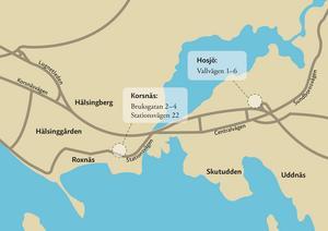 Det handlar om 158 lägenheter på Vallvägen, Bruksgatan och Stationsvägen i Falun.