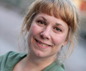 Stina Wollter.