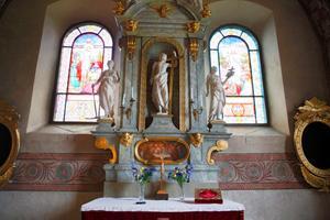 Kyrka.Altaret.