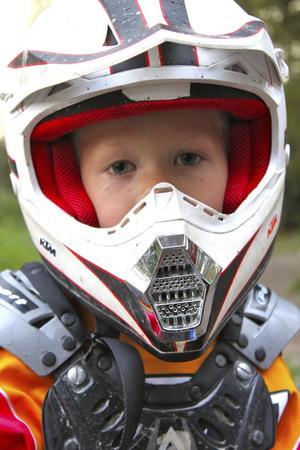 Frank Larsson, motocrosskille