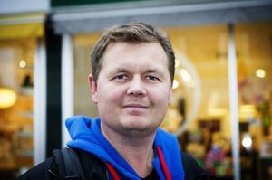 Alexander Grindborg, Själevad:– Nej det tror jag inte, jag tycker det skulle kännas lite otäckt.