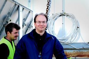 Jan-Erik Norgren har i månader planerat flytten av maskinerna
