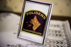 Eilert Hägglund har gjort många år som en av polisens hundförare i Örnsköldsvik.