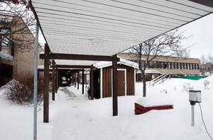 Här på äldreboendet Västervik på Frösön, har det hänt att de boende inte fått komma upp förrän mitt på dagen.  Foto: Jan Andersson
