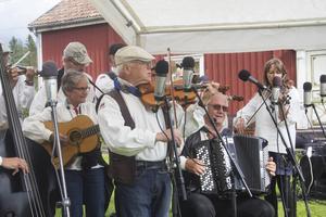 Hudiksvalls spelmanslag bjöd på en bred repertoar.