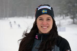 Anna Dyvik, Falun-Borlänge SK, har visat otroligt bra form den senaste månaden.