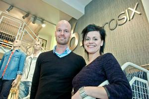 Reidar Sundin och Emma Ljungberg på Zerosix har massor av åsikter om stadshandeln.