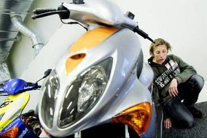 Alex Hausenkamp kallar sitt mopedprojekt för