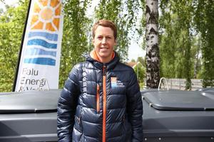Hanna Bergman, återvinningschef, Falu Energi & Vatten.