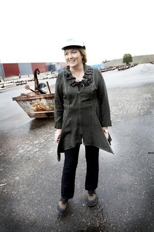 """ska förbättra. """"Lönsamheten                                             ska förbättras radikalt"""", säger Petra Einarsson, ny chef för produktområdet Rör inom Sandvik Materials Technology (SMT)"""