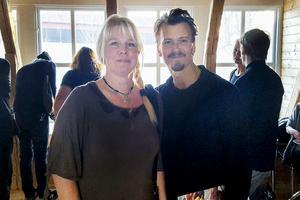 Elisabeth Andersson fick en pratstund med mästerkocken Paul Svensson, som hade uppdraget att tillaga köttet i tävlingen.