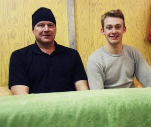 Samarbetet mellan fystränaren Stefan Bohlin och Filip Skoglund har gett resultat.