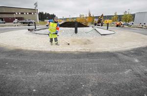 I morgon öppnas ännu en rondell i Östersund.