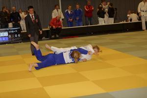 Maja Tofilovski under helgens tävlingar i Norge.